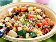 Pasta Salad, Cobb Salad, Kung Pao Chicken, Broccoli, Potato Salad, Potatoes, Healthy, Ethnic Recipes, Comfortfood
