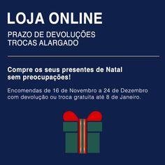Loja Online Lion of Porches Compre os seus presentes de Natal sem preocupações.  Trocas e devoluções até 8 de Janeiro 2016 Loja Online @ www.lionofporches.com