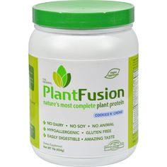 PlantFusion Multi Source Plant Protein Vanilla Bean - 1 lb ** Check out this great product. (This is an affiliate link and I receive a commission for the sales) Pure Protein, Whey Protein, Protein Power, Vegan Protein, Protein Blend, Protein Foods, High Protein, Healthy Foods, Camera Photos