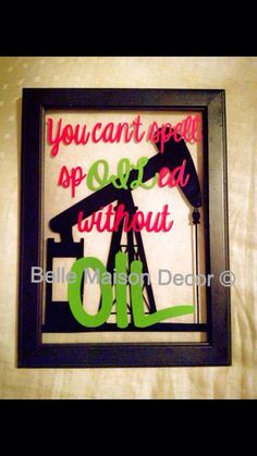 5x7 inch Frame You Can't Spell Spoiled by BelleMaisonDecorOK, $15.00