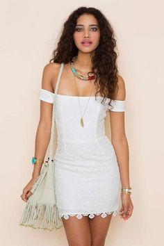 Kristine Crochet Dress