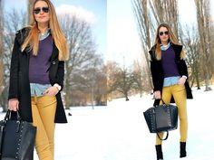 Colorful Winter (by Darja Enkova) http://lookbook.nu/look/4698053-Colorful-Winter  www.ChloeSterk.nl
