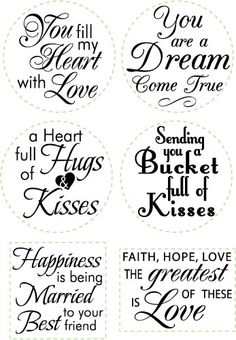 JB-09725 -Loving Thoughts Centers,  ROUND and SQUARE combo, 1-5/8""