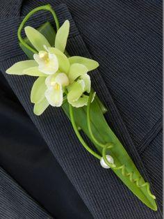 Orchid boutonnière inspiration   LZ Orchidee