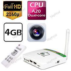 Combo Deal: ARM Cortex-A9 Dual-core Android 4.1 1.6GHz Mali-400 32GB Micro SD/TF card 4GB 1GB IEEE 802.11b/g/n TV Boxes  http://www.tinydeal.com/arm-cortex-a9-dual-core-android-41-16ghz-mali-400-32gb-p-98390.html