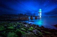 """500px / Photo """"Starry Lonely Night"""" by AtomicZen : )"""