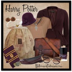 Get the look: Harry Potter. Year-round outfit idea for book & movie fans! #Fashion