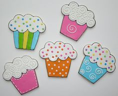 Cupcake cookies - mitsel8 on flickr