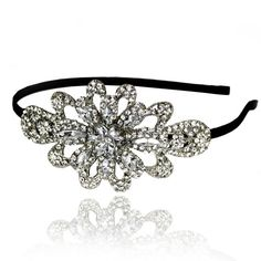 Prom Collection Crystal Prom Queen Tiara Silver - 4EverBling