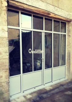 R sultat de recherche d 39 images pour porte de garage vitr e atelier pinterest porte for Porte en fer atelier