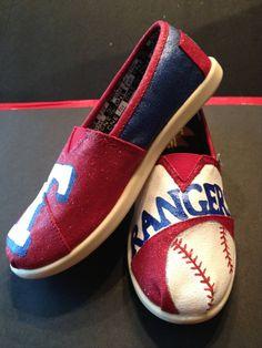 Texas Rangers cute-toms