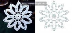 219 Crochet Snowflake Pattern, Crochet Stars, Crochet Snowflakes, Crochet Flowers, Crochet Christmas Ornaments, Irish Crochet, Gifts, Snow Flakes, Tutorial Crochet