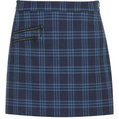 Hallhuber Zipper mini skirt (1.870.920 VND) ❤ liked on Polyvore featuring skirts, mini skirts, bottoms, faldas, dark blue, women, short mini skirts, zipper mini skirt, flare short skirt and blue flared skirt