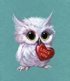 White Owl by APetruk on DeviantArt