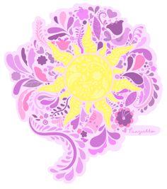 Tattoo Disney Symbols Tangled Sun 45 New Ideas Rapunzel Sun, Rapunzel Disney, Tangled Sun, Rapunzel And Eugene, Disney Princesses, Disney Pixar, Disney Films, Disney And Dreamworks, Disney Art