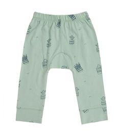 Pantalón de bebé de 100% algodón orgánico de Comercio Justo Certificado. Tiralahilacha.