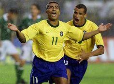 Romário na Seleção Brasileira