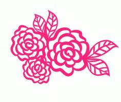 Silhouette Design Store: flowers