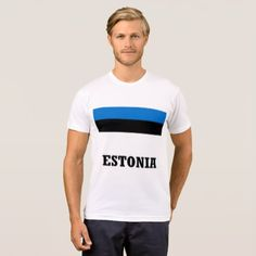 ESTONIA T-Shirt - diy cyo customize create your own personalize