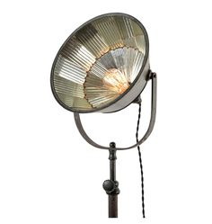 Extremely Rare 28-Mirror All-original I.P. Frink Floor Lamp c1910 | Rejuvenation $6000
