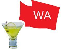 The Washington Apple (Vodka, Sour Apple Schnapps, and apple juice)