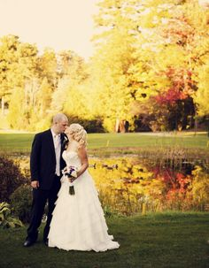 Un mariage d'automne au Whitlock Golf & Country Club - Unikevent // A fall wedding at the Whitlock Golf & Country Club #golfwedding #montreal #unikevent #weddingplanner