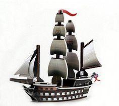 PotCC 033 - English ship HMS Viceroy