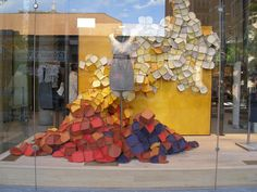 crates anthropologie | Kudos to the display team at the new Anthropologie shop in Harvard ...