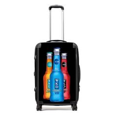 The Classic Midsized Case allows a print area of 508 x 708mm which is the ideal size for full colour images on Personalised Luggage. Make sure your traveling sales team carries these Personalised Suitcases!