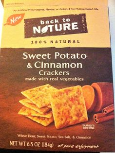 Easy Breezy Life:  New Allergy Free Crackers!