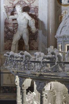 "Mat Collishaw ""Black Mirror"" at Galleria Borghese, Rome, 2014"