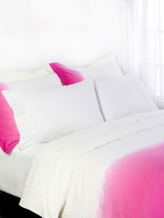 Dip Dye Percale Duvet Set by OYO Home Collection at Gilt