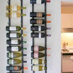 wine racks wines, wine racks, vintage wine, metal wine rack, vintag view, wine bar, vintage metal, view wine, decor idea