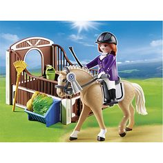 Buy Playmobil Country Show Horse With Stall Online at johnlewis.com
