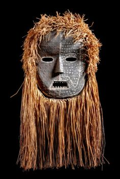Mask from the Ituri people of DR Congo