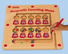 Lakeshore's Magnetic Counting Maze: Summertime is counting time with an irresistible maze that kids can complete again & again!