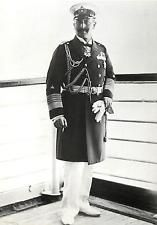 Kaiser Wilhelm II of Germany in Admiral's Uniform Modern Postcard