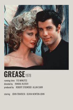 GREASE POLAROID POSTER (1978)