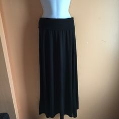 "Cute Skirt Beautiful black skirt, never worn. Length 38"" Other Skirts"
