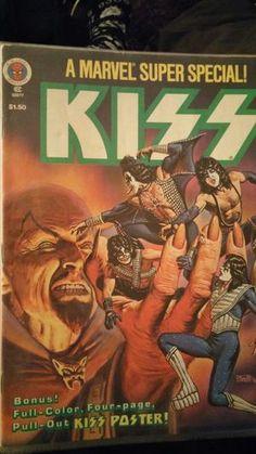 Vintage 1977 MINT Marvel KISS Comic book