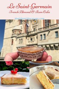 The almond & rum tart created in 1920 in Saint-Germain, near Paris
