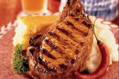 Two-Step Pork Chop - Weber