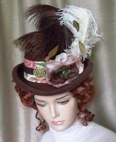 319a39d1db0 Reuse + Recycle + Refurbish   Upcycle! Fancy That s hats are the result of  taking