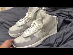 ceb50645c72 Nike Air Force 1 PSNY (Grey) Unboxing. Kyle ShoeBoi - YouTube