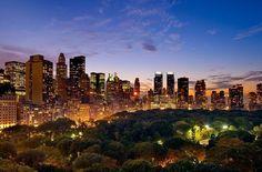 Америка: Ночной Нью-Йорк (фото)