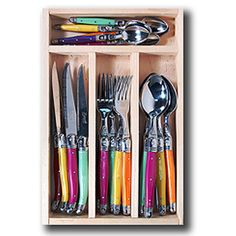 Laguiole cutlery set perfection.  Available at DTLL.