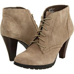 Love these White Mountain suede booties!!!!