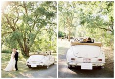 Definately renting an old vintage car for my wedding.
