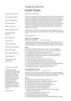 1005 Best Teachers Resumes Images In 2019 Teacher Resumes Teacher