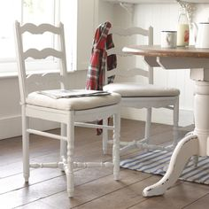 Missy chairs with Pantry kitchen table
